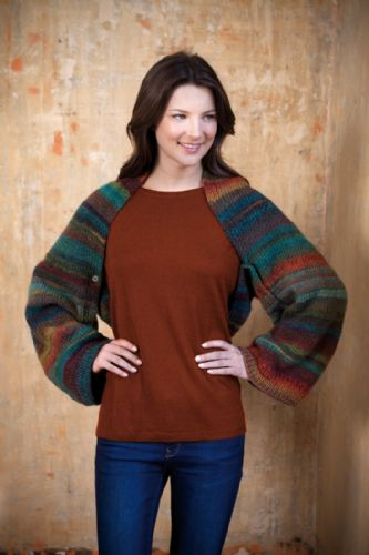Katia Azteca multi-way shrug